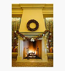 Holiday Hearth  Photographic Print