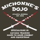 Michonne's Dojo by FANATEE