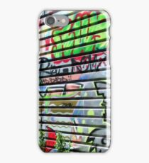 Paris Graffiti iPhone Case/Skin