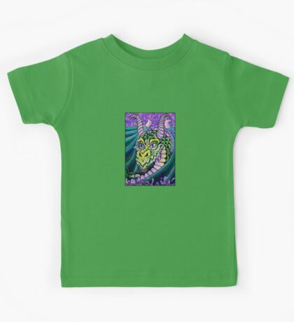 dragon close up (small) Kids Clothes
