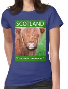 Moo Shirt Womens Fitted T-Shirt