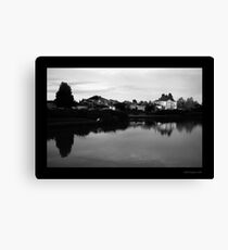 Fairways Village Lake, Craigieburn Canvas Print