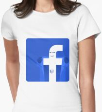 Universal Unbranding - Exhibitionism Women's Fitted T-Shirt