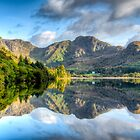 Autumn Reflections by Adrian Evans