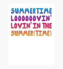 Summertime Lovin' Photographic Print