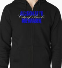 'Absolute Newark' (w) Zipped Hoodie