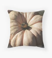 When the Frost is On the Pumpkin Throw Pillow