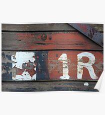 Railway Abstract III Poster