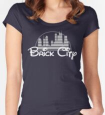 'The Magic of Newark' Women's Fitted Scoop T-Shirt
