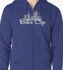 'The Magic of Newark' Zipped Hoodie