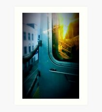 Early Morning Commute Art Print