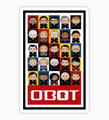 Politico'bots 1.0 Sticker