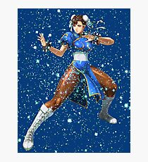 Street Fighter Chun Li Stars Photographic Print