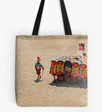 Roman reenactment, Jerash Tote Bag