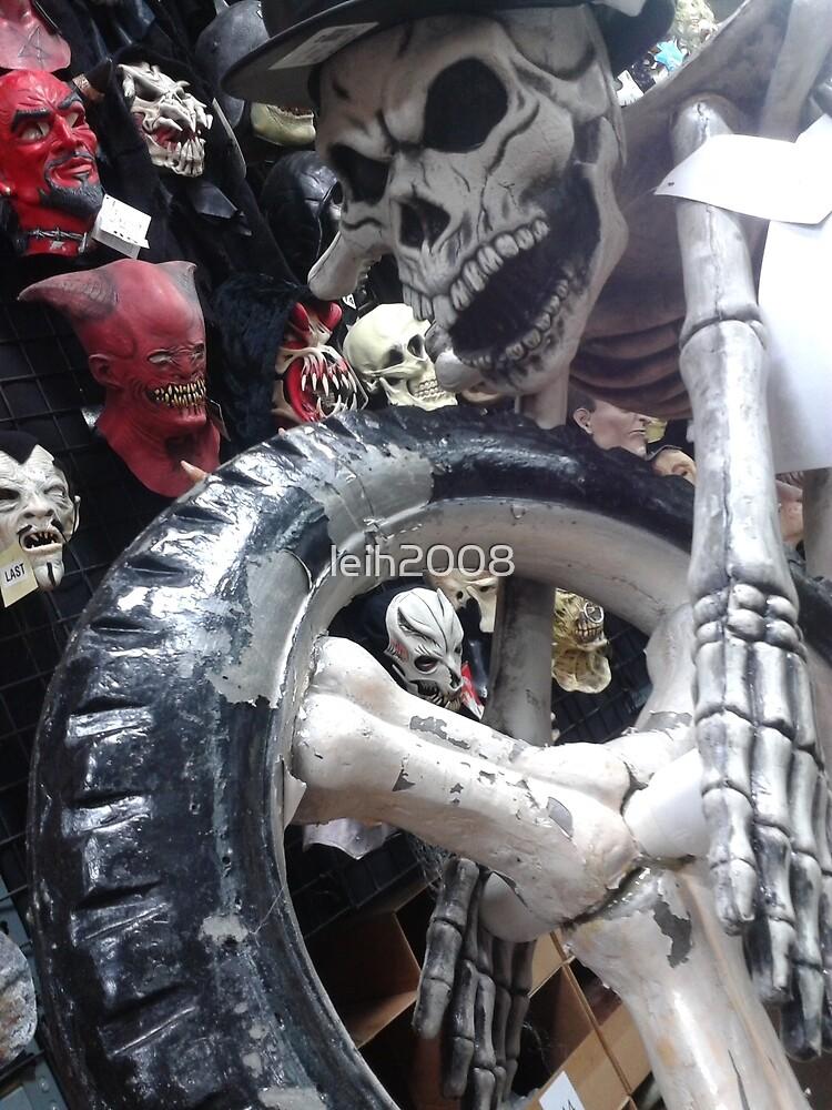 Dia de Los Muertos; Brian's Grave Rider by leih2008