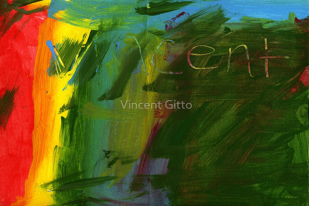 I Don't Know - an Abstract by Vincent Gitto