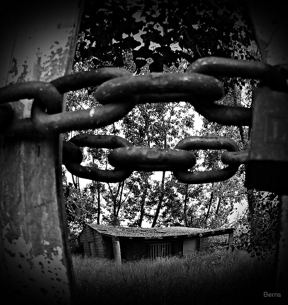 You know the boundaries, break your own chains by Berns