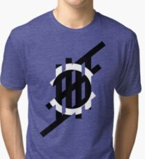 'Stripe'- Circle Tri-blend T-Shirt