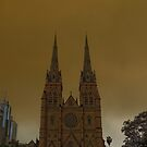 St marys Cathedral Sydney by tunna