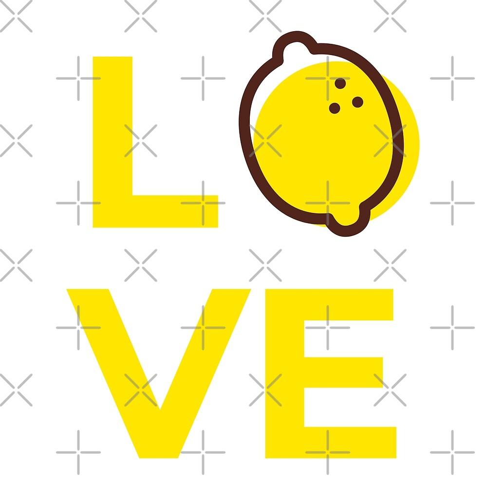 Love Lemon Fruit by Sweevy Swag