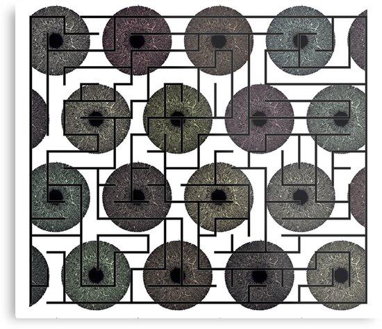 Maze (Eye Pattern) by ProjectMayhem