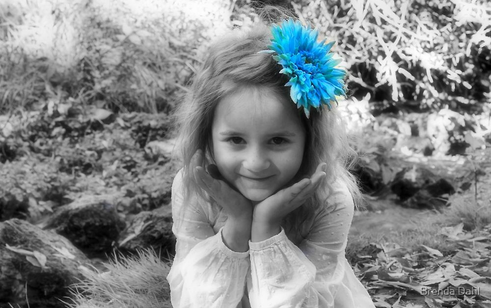 She is an Sweet Lil Photgraphic Angel by Brenda Dahl
