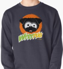 Black WerePug - Dark Apparel Pullover