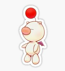Kingdom Hearts Moogle Sticker