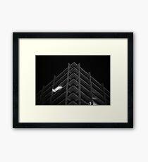 Untitled I (brutalism) Framed Print
