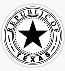 Texas 1836 | State Seal | SteezeFactory.com Sticker