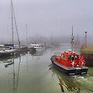 Foggy Lowestoft by Lilian Marshall