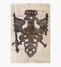 Coat of arms. Photographic Print
