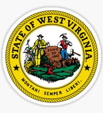 West Virginia | State Seal | SteezeFactory.com Sticker