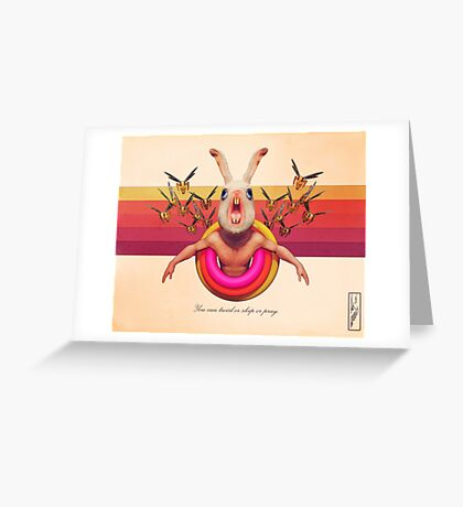 Twirl, Skip, Pray Greeting Card