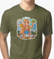 Hanuman - Hindu God - Bunch of Bhagwans Tri-blend T-Shirt
