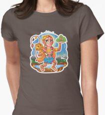 Hanuman - Hindu God - Bunch of Bhagwans Women's Fitted T-Shirt