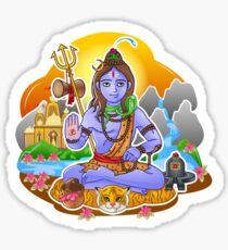 Shiva - Hindu God - Bunch of Bhagwans Sticker