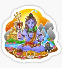 Shiva - Hindu God - Bunch of Bhagwans Sticker