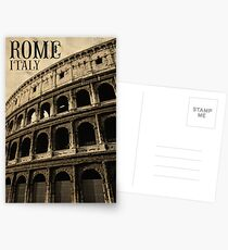 Colosseum in Rome Italy Postcards