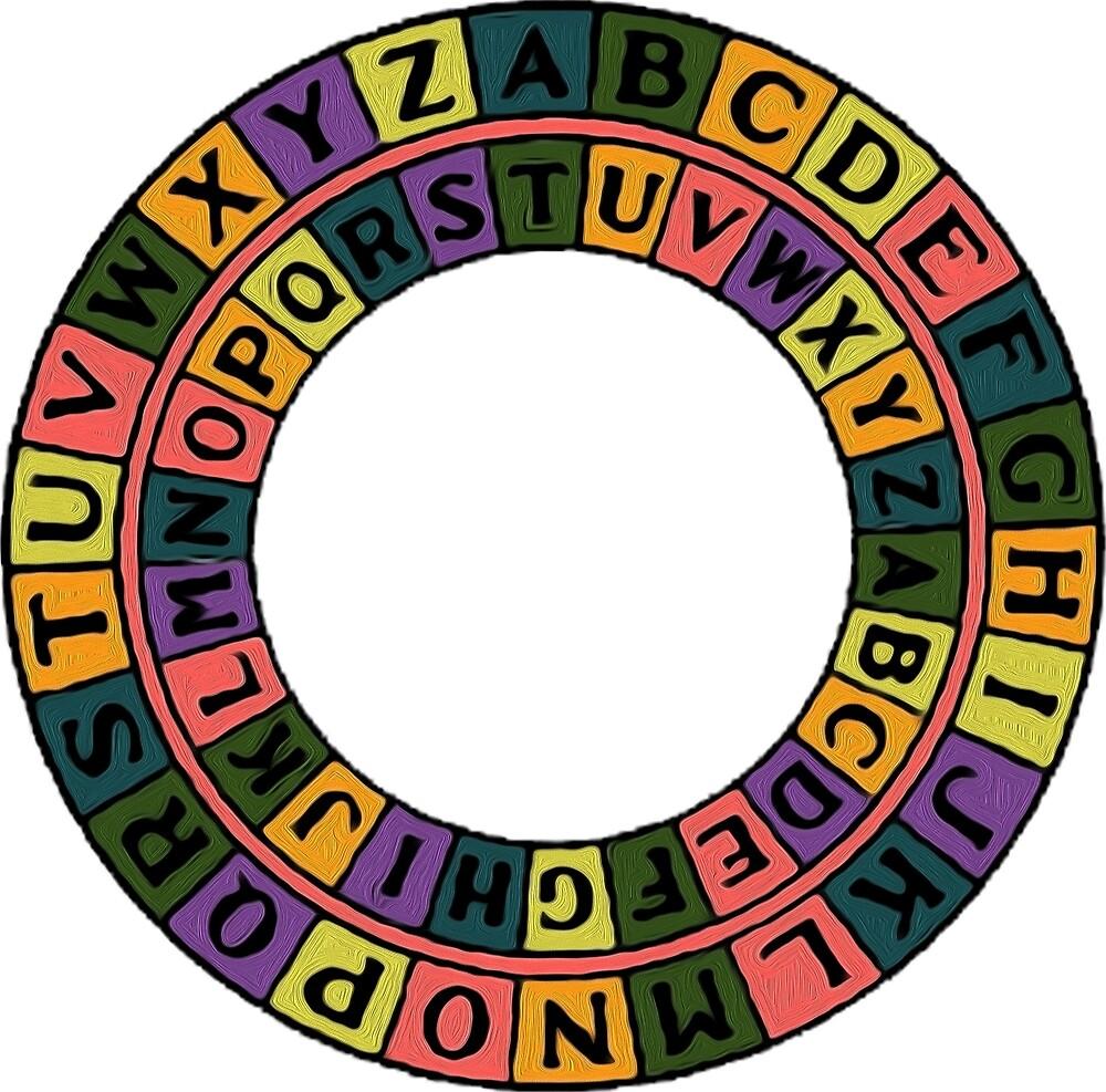 Caesar's Shift Cipher Love (White) by ProjectMayhem
