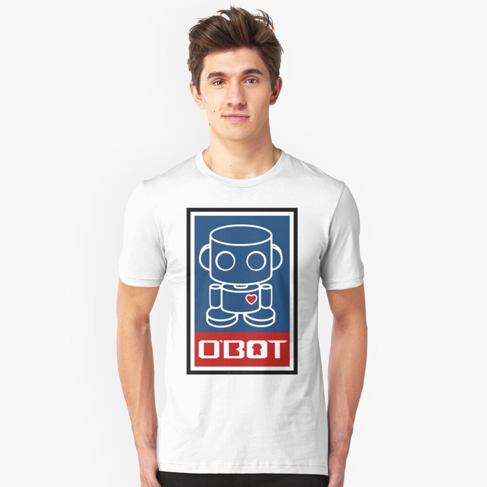 O'BOTs Spread Love 2.0 Unisex T-Shirt Front