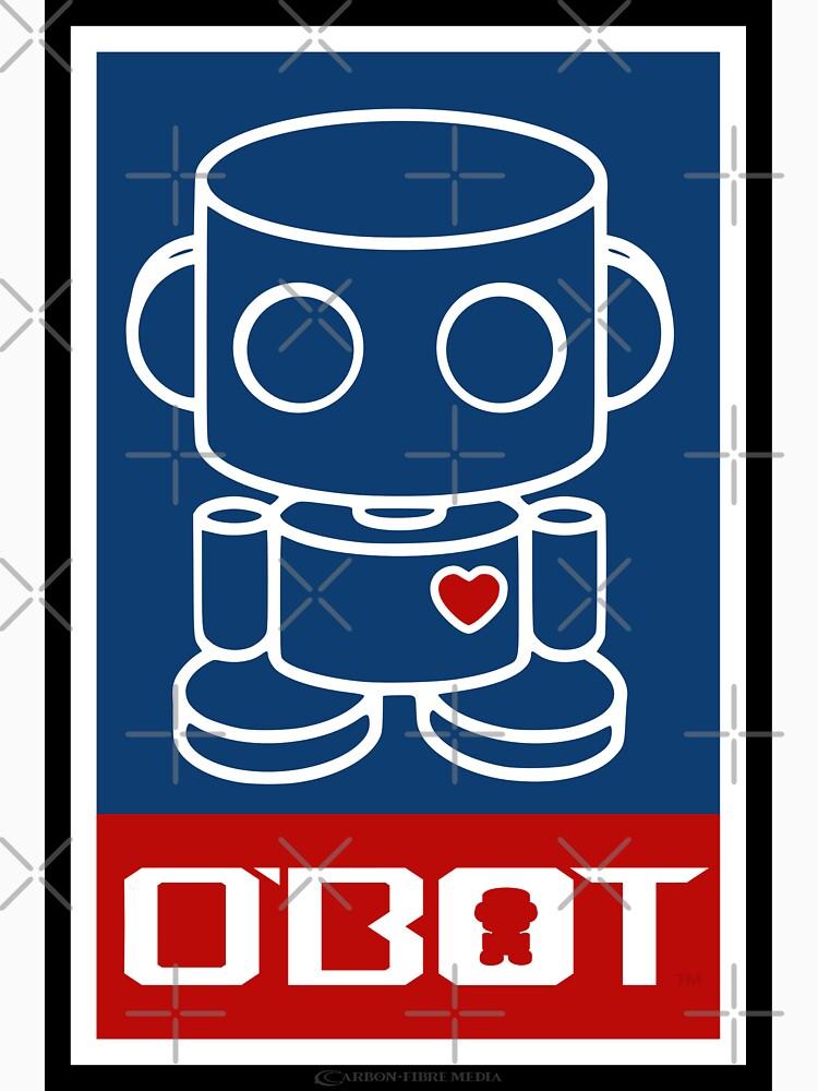 O'BOTs Spread Love 2.0 by carbonfibreme