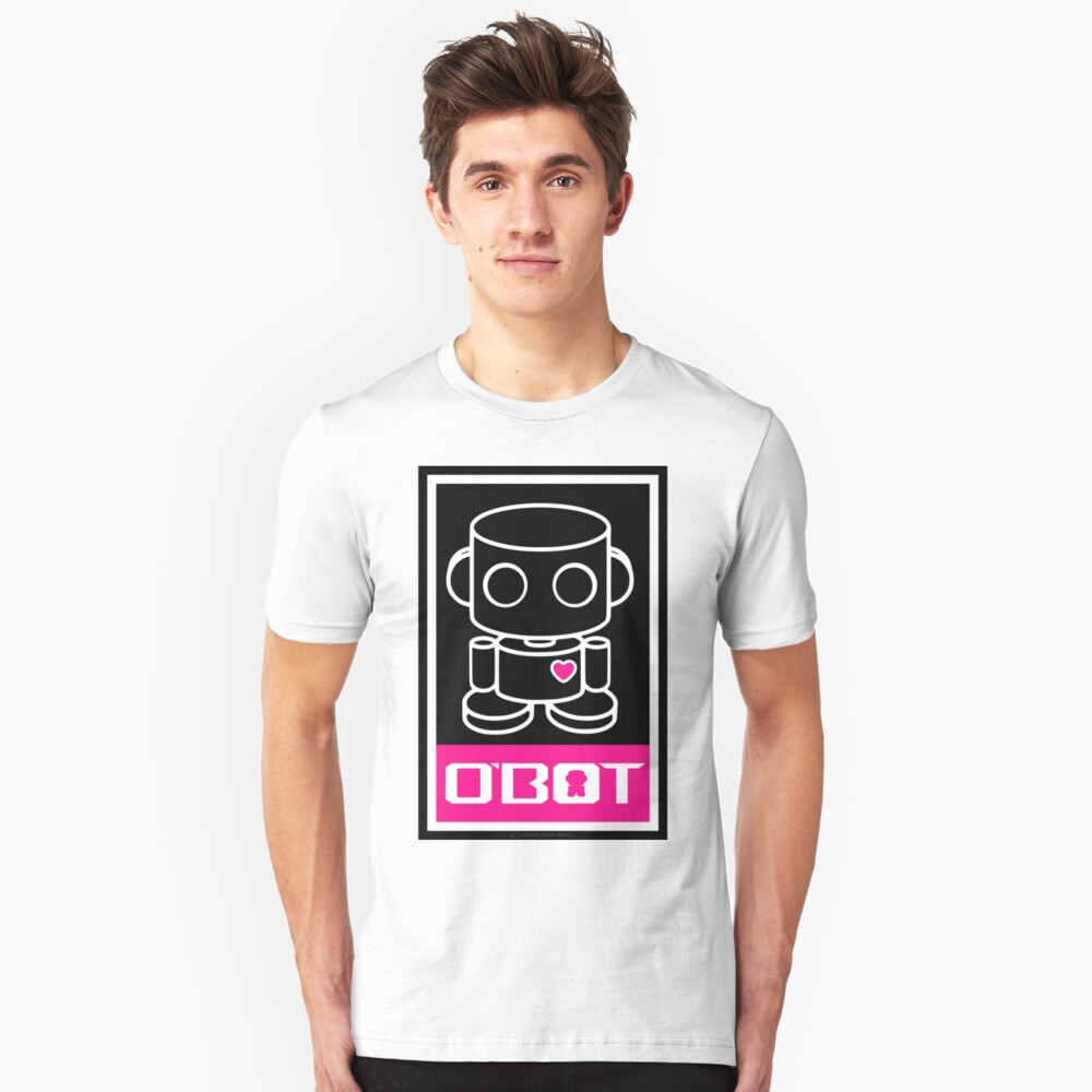 O'bots Spread Love 3.0 Slim Fit T-Shirt