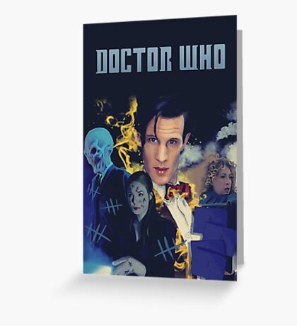 Doctor Who - season 6 Greeting Card