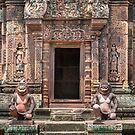 Banteay Srey by Werner Padarin