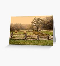 Bridge on Blue Ridge Parkway Greeting Card