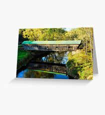 Hammond Covered Bridge Greeting Card