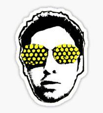 Calvin Harris Fly Eyes Head Sticker