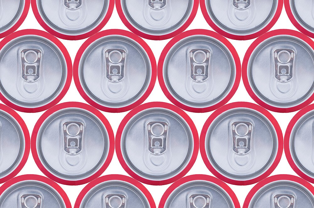 Pattern drink cans by OHphoty