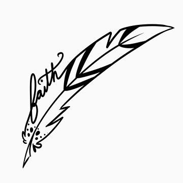 Faith feather by Castropheonix